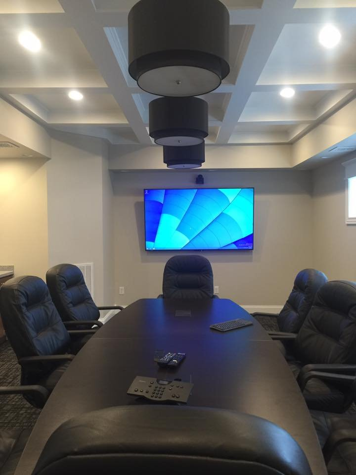 Sharp conference room video conference system