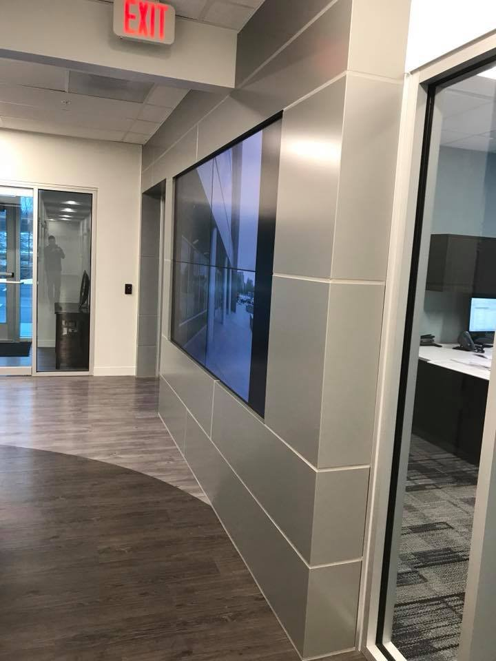 Sharp video wall system